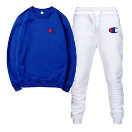 $enCountryForm.capitalKeyWord UK - Designer brand sportswear men's quality spring and autumn men's sweatshirt + pants two-piece sweat suit jogger track suit