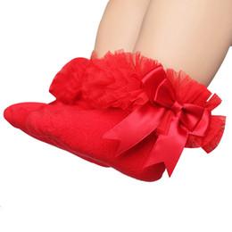 $enCountryForm.capitalKeyWord UK - 1 Pair 2018 Baby Girls Socks Summer Children Breathable Short Ankle Bow Sock Kids Toddler Cotton Lace Ruffle Princess Mesh Socks