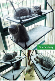 $enCountryForm.capitalKeyWord NZ - Mounted Cat Hammock Bed Seat Sunny Cat Resting Sunshine Window Perch Hammock With Suction Cups Holds Up to 20KG Saving Space