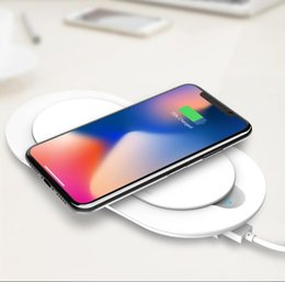 ldnio charger Australia - LDNIO PW1003 PW501 5000mAh 1000mah Wireless charger USB Li-Polymer Slim Powerbank with output port For Xiaomi iPhone Mobile Phone
