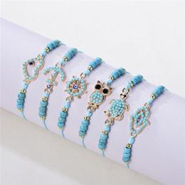 $enCountryForm.capitalKeyWord Australia - 12 style Hand-woven jewelry bracelet dolphin, butterfly, dragonfly, owl, turtle, ship rudder Bracelet Beaded Bracelet send girlfriend gifts