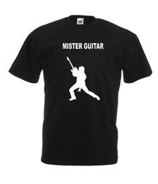 Bass guitar red Black online shopping - MR GUITAR bass music band xmas birthday gift idea mens womens adult T SHIRT TOP