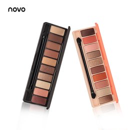 makeup wholesale naked palette Australia - DHL Free Eyeshadow Palette 10 Color Matte EyeShadow Naked Palette Glitter Eye Shadow MakeUp Nude MakeUp Set Korea famous Cosmetics Tray
