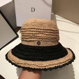 2bfac99e 2019 new hot fashion Lafite female summer wave side small basin hat  fisherman hat beach vacation leisure travel sun hat