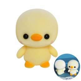 China Stuffed Toy Soft Plush Doll Mini Cute Duck Toy Baby Doll Collector Favor Puzzle plaything supplier duck soft toys suppliers