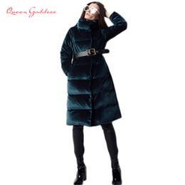 $enCountryForm.capitalKeyWord Australia - Europe New Fashion Trend Retro Type Women 90 White Duck Down Jacket High Quality Long Down Parkas VELOUR Clothes