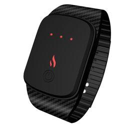$enCountryForm.capitalKeyWord Australia - Smart Wristband Blood Smartwatch Temperature Control Gear Smart Warm Bracelet amazfit bip watch watch New