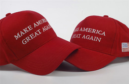 Unisex Suits Australia - American Baseball Snapbacks Make America Great Again Adjustable Unisex Donald Trump Hat Summer Casual Breathable Ball Caps Free Size