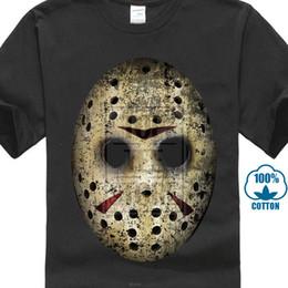 Black friday mask online shopping - Mask T Shirt The Friday Jason Horror th Camp Crystal Lake Casual Black Tshirt Novelty