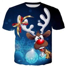 829f5d0c8e5 Plus size christmas tee shirts online shopping - Fashion Merry Christmas  Newest Men Women D Printing