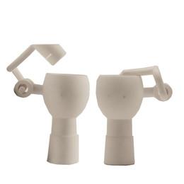 $enCountryForm.capitalKeyWord UK - Ceramic Honey Bucket Nail Tips 14mm & 18mm Male Female Dab Rig Ceramic Swing Arm Hand Tool Oil Water Pipe Glass Bong