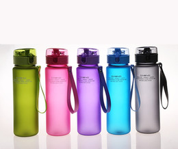 Food Grade Plastic Bottle BPA Free Leak Proof Sports Water Bottle High Quality Tour Hiking Portable My Favorite Bottles 560ml from tool mounting suppliers