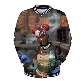 $enCountryForm.capitalKeyWord Australia - 2019 Fashion New Game Apex Legends 3D Baseball Jacket Women  Men Casual Cool Harajuku Jacket Sweatshirts Baseball Clothing Plus size