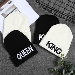 King queen hip hop cap online shopping - New Arrive Brand King Queen Snapback Cap Men Women BEANIE Sport Hip Hop Hat Couple Embroidery Hat Outdoors Knitting