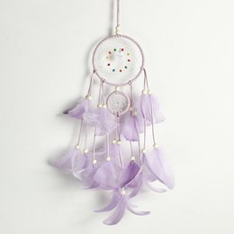 $enCountryForm.capitalKeyWord NZ - Light Up Dream Catchers for Bedroom Wall Hanging Decorations Dreamcatcher Home Ornaments Fantasy Gifts for Kids 5 Styles H743Q