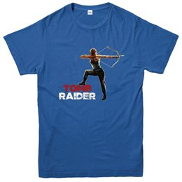 $enCountryForm.capitalKeyWord Australia - Tomb Raider T-Shirt, Lara Croft, Bow & Arrow Poster Inspired Tee Top