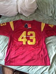 0a63e1e2a Cheap custom Troy Polamalu USC Trojans NCAA Football Jersey Stitch  customize any number name MEN WOMEN YOUTH XS-5XL