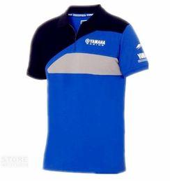 Bicycle Riding Shirts NZ - 2019Super Speed MOTOGP Club Team Uniform Polo T-shirt For YAMAHA Racing Motorcycle Bicycle Riding Golf T-shirts