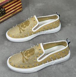 $enCountryForm.capitalKeyWord NZ - NEW Rivet loafers, skull head hot drill rivet fashionable foot casual shoes, new men's board shoes, mens designer slides G5.77
