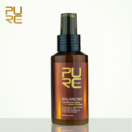 damaged hair NZ - PURC balancing conditioner spray 100ml anti-static and replenishes moisture in the meantime hair care & styling and Scalp Treatments