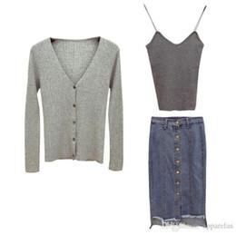 $enCountryForm.capitalKeyWord UK - Autumn And Winter Pop Small Fragrance Wind Wool Two-piece Skirt Autumn Sweater Skirt Suit Women Winter Fashion