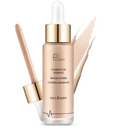 Chinese  dhl free shipping Pudaier Makeup Foundation essences invisible pores covering blemishes water embellish concealer SPF35 makeup foundation manufacturers
