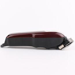 Ingrosso 2021 8148 magia rossa elettrici Hair Clippers cordless per adulti Rasoi professionale trimmer angolo Razor Hairdresse Uomo
