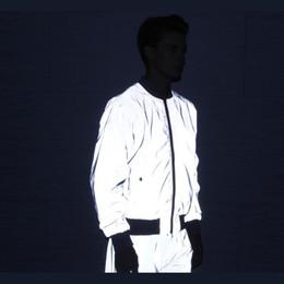 $enCountryForm.capitalKeyWord Australia - Riinr Men's 3M Full Reflective Jacket Light Hoodies Women Jackets Hip Hop Waterproof Windbreaker Hooded Streetwear Coats Man