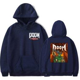 $enCountryForm.capitalKeyWord Australia - Aikooki High Quality Doom Eternal Hoodie Men Women Harajuku Casual Hot Game Hoodies Print Doom Eternal Sweatshirt Streetwear Top