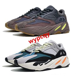 Chinese  New 700 mauve running shoes mens best wave runner 700 Kanye West designer sneakers womens 2019 brand boots with box US5-11.5 manufacturers
