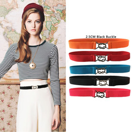 banded dresses for women Australia - Seabigtoo elastic belt for dresses thin belts female Stretch waist cinch ladies belts women 2018 decorated waist band