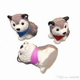 Husky Toys UK - Kawaii Husky Dog Squishies Toys Squishy Animal Slow Rebound Simulated Animals Squeeze Cartoon Decompression For Kids Toy