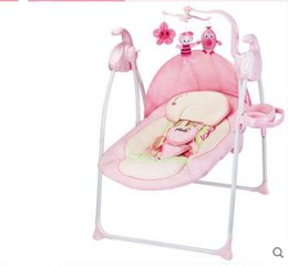 df9b59c8f 2019 new swing baby artifact baby rocking chair comfort chair baby electric cradle  bed recliner sleep shake shaker multifunctional rocking c