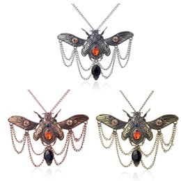$enCountryForm.capitalKeyWord Australia - Fashion Creative Bohemian Jewelry beatles Pendant Necklace Creative Insect Charm Necklace