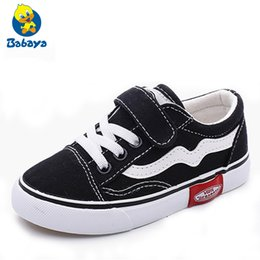 Boys Canvas Slip Shoes Australia - 2018 Autumn New Children Canvas Shoes Girls Sneakers Breathable Spring Fashion Kids Shoes For Boys Casual Shoes Student Y19051403