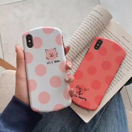 dog silicone iphone cases NZ - Cute Gift Cartoon Cat&Dog Spots Smiling TPU Soft Rubber Case Ultra-Thin Shockproof Back Phone Cover For Apple iPhone XS Max XR X 8 7 6 Plus