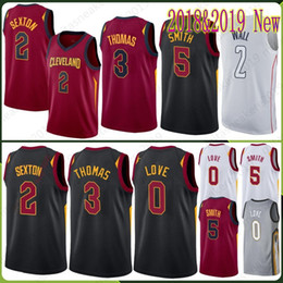 003740df2c97 Sexton 2 Collin Jersey Cleveland 0 Kevin 5 JR Love Cavaliers 2 John Smith  Wall Embroidery Logos Stitched Jerseys