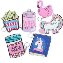 Funny coin purse online shopping - Funny D Print Coin Purse For Women Chips Bottle Book Shape Leather Wallet and Purse Keyring Small Bag Mini Girls Clutch Wallet