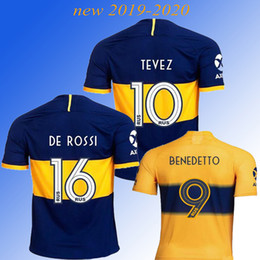$enCountryForm.capitalKeyWord UK - New 2019 Boca Juniors soccer jersey DE ROSSI TEVEZ PAVON BENEDETTO MAURO GAGO OSVALDO PEREZ football shirt