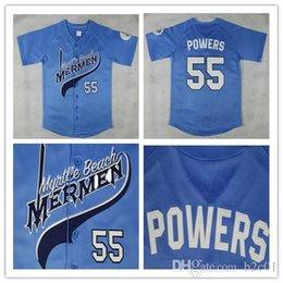 $enCountryForm.capitalKeyWord Australia - Kenny Powers #55 Myrtle Beach Mermen Baseball Jersey Blue