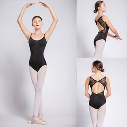 7415acb61a450 Ballet Leotard For Women Black Sexy Ballet Dancing Wear Adult High Quality Dance  Practice Clothes Gymnastics Leotards