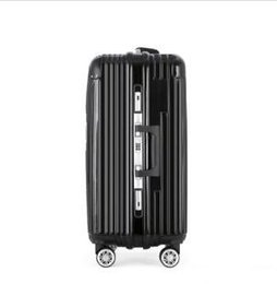 pull bag NZ - Luggage bag new style Universal wheel Pull rod box fashion Unisex Spinner Hardside Luggage maletas de viaje con ruedas envio