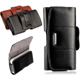 $enCountryForm.capitalKeyWord Australia - Belt Clip Holster Leather Mobile Phone Cases Pouch For iPhone 7 6 6S plus Cell Phone Cover Bag for iPhone 7 6 4 4s 5 5S SE cover