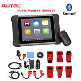 Autel Peugeot Australia - AUTEL MaxiSYS MS906BT MaxiSYS 906BT Auto Diagnostic Scanner OBD2 Diagnostic Scanner Tool ECU Coding Better MS906