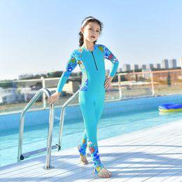 Wetsuit sWimWear online shopping - 2019 mm Neoprene Kids Wetsuit Rash guard Dive Wet Suit Child Swimwear One piece Long Sleeved Sunscreen Snorkeling Warm Clothing
