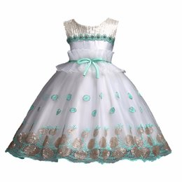 $enCountryForm.capitalKeyWord Australia - Teenage Girls Dresses Sequined Formal Prom Ball Gown for Kids Clothing Wedding Party Dress Christmas Children Clothes 3-13T