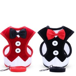 Wholesale Cloth Quality Doggy Vest Costume Multi Style Dog Chest Back Dress Small Medium Pets Traction Suit Hot Selling nl L1