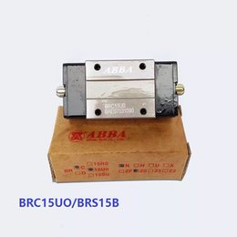 Wholesale 4pcs lot Original Taiwan ABBA BRC15UO BRS15B Slider Narrow Block Linear Rail Guide Bearing for CNC Router Laser Machine 3D printer