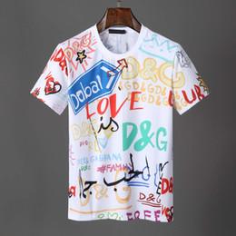 Tshirt Printing London Australia - Luxury Designer men Short Sleeve T shirt Brand London New York Chicago polo shirt men Letters Printed TShirt tops