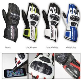 $enCountryForm.capitalKeyWord Australia - New GK198 Motorcycle Gloves large touch-screen glove leather carbon fiber riding car racing off-road anti-fall